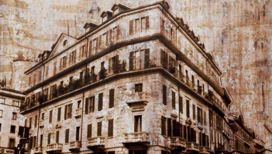 FELISI Corso Venezia 2008 cm. 120 x 130