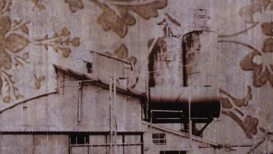 FELISI Facciata Fabbrica 2008 cm. 130 x 130