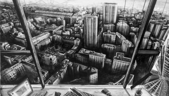 02 GIAMPIETRO Studio 2015 cm. 140×100 olio su tela