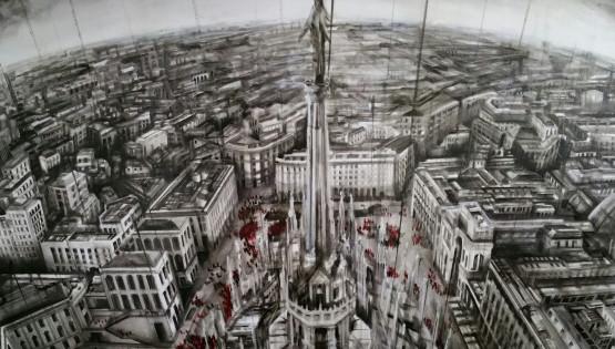 04 GIAMPIETRO Duomo 2015 cm. 90×120 olio su tela