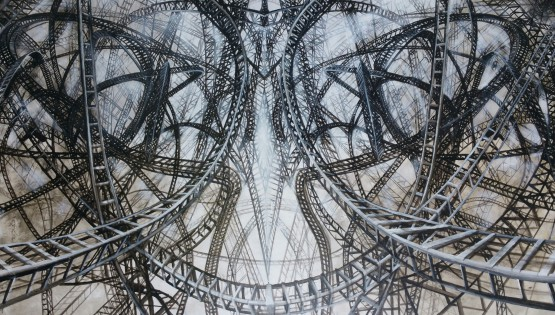 05 GIAMPIETRO Lullabies 2015 cm. 240×140 olio su tela
