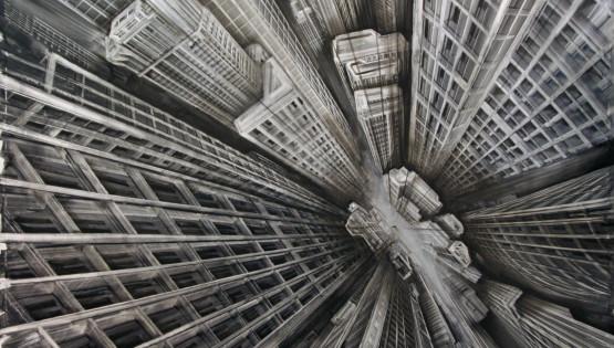 06 GIAMPIETRO Vertigo 2015 cm. 200×170 olio su tela