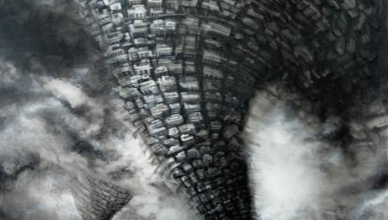 14 GIAMPIETRO Twister 2011 cm. 120×160  olio su tela