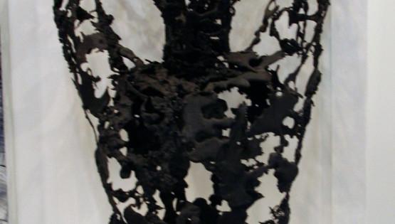 15 GOLDANIGA Busto bronzo cm. 83x50x40