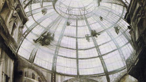 35 GIAMPIETRO Galleria Milano 2006 cm. 100×120 olio su tela