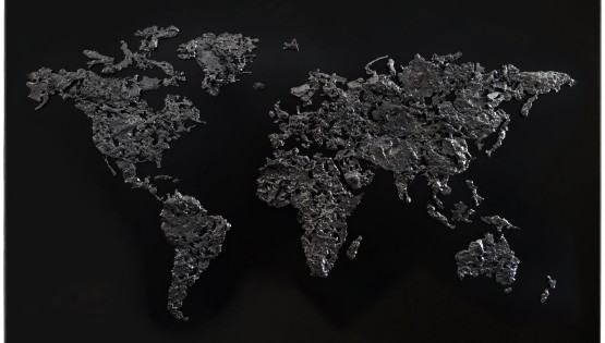 GOLDANIGA World Map 2018 nero