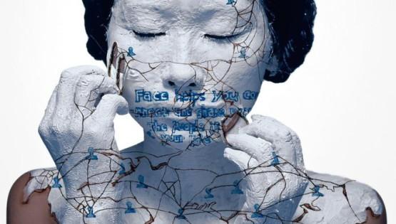 02 ROSFER & SHAOKUN Face-off 2010 stampa da fotocolor inciso e dipinto