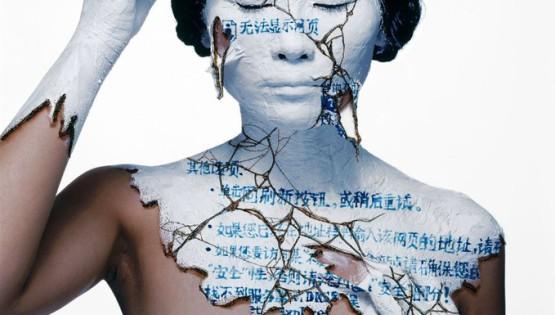 03 ROSFER & SHAOKUN Face-off 2010 stampa da fotocolor inciso e dipinto