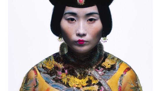 08 ROSFER & SHAOKUN Bureaucratic Beauty I 2008 stampa da fotocolor inciso e dipinto