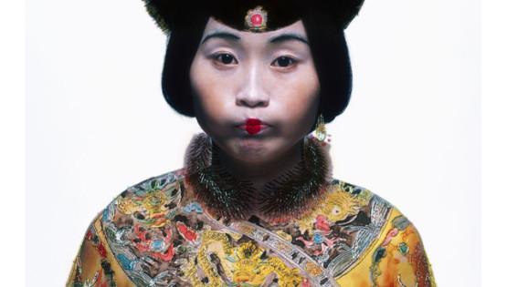 09 ROSFER & SHAOKUN Bureaucratic Beauty II 2008 stampa da fotocolor inciso e dipinto