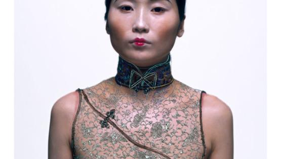 11 ROSFER & SHAOKUN Bureaucratic Beauty IV 2008 stampa da fotocolor inciso e dipinto