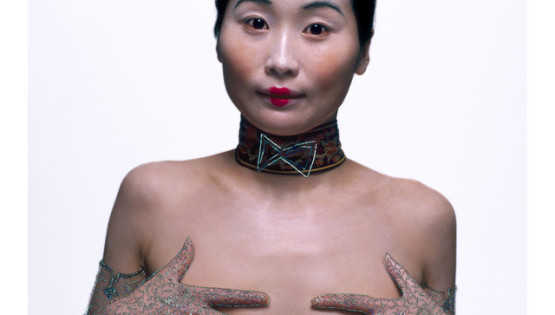 13 ROSFER & SHAOKUN Bureaucratic Beauty VI 2008 stampa da fotocolor inciso e dipinto