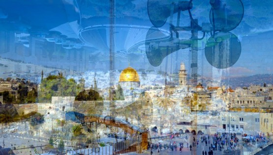 BRAMANTE Gerusalemme (Panoramica) 2016 cm. 130×200