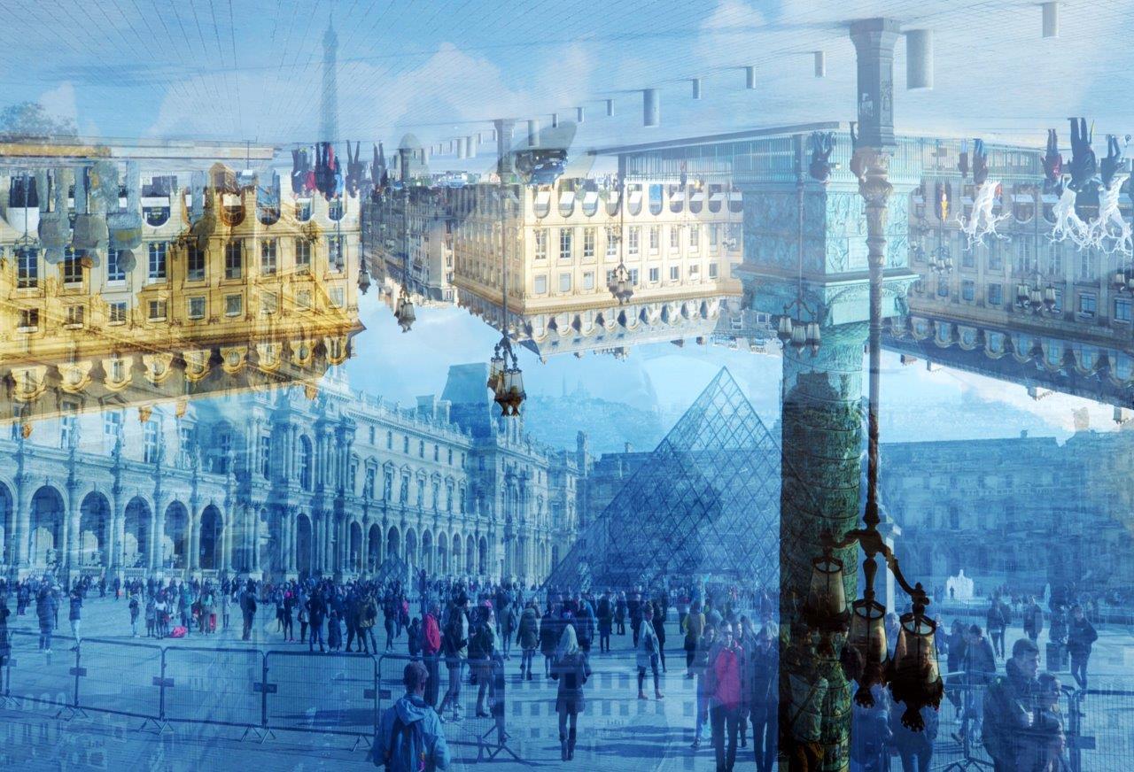 BRAMANTE Parigi (In su e in giù) 2016 cm. 130×180