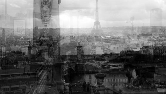 BRAMANTE Parigi (dal bianco al nero) 2016 cm. 130×200
