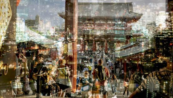 BRAMANTE Tokyo, 2015 (Past Present Future) cm 120 x 200