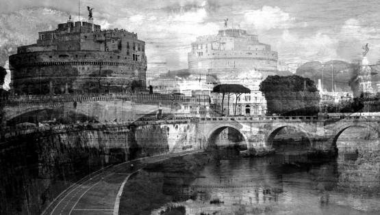 Roma, (Castel S.Angelo) 2016 cm. 100×150