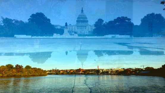 Washington, (Potomac e Capitol) 2019 cm. 70×100