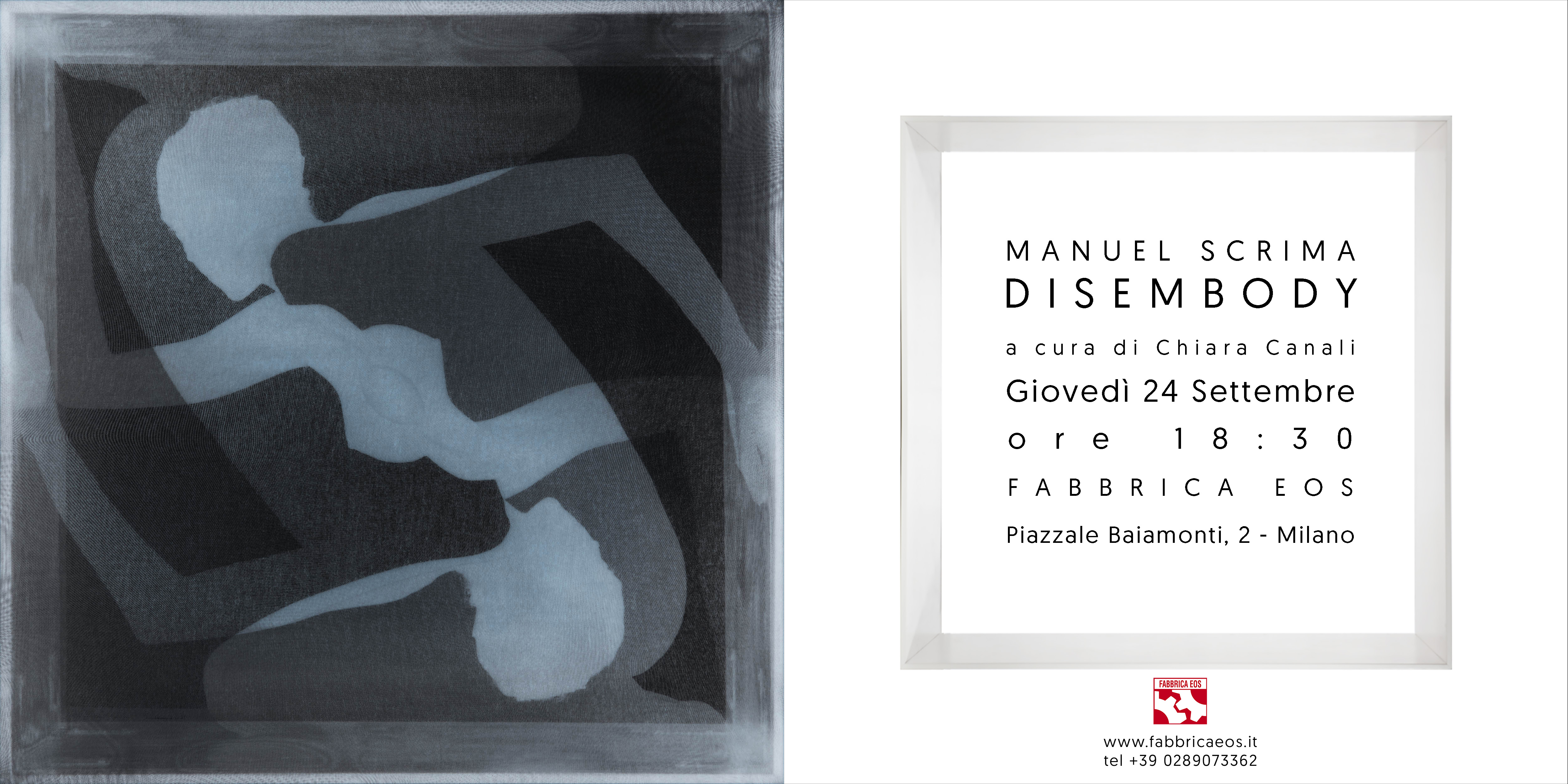 invito - disembody - manuel scrima - fabbrica eos --new font