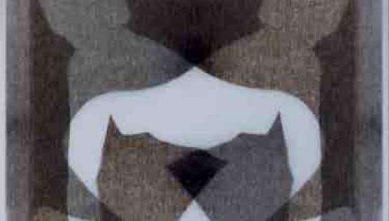 Disembodiedness 040 (Sfinge) 2013-2020 stampa su lastra di vetro e lastra di plexiglass bianco opalino cm. 100×100 Ed. 5