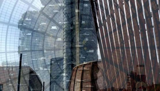 BRAMANTE Milano verticale 2019 cm. 180×120