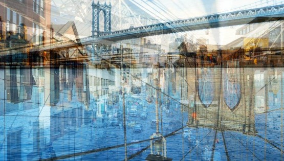BRAMANTE New York, (Sea) 2017 180×120