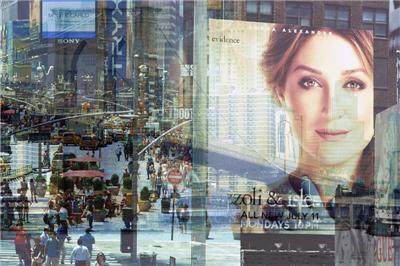 BRAMANTE New york (Rizzoli + Isles) cm. 100×150
