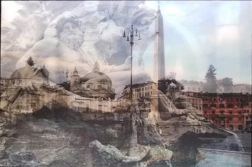BRAMANTE Roma 2019 Lightbox cm. 70×100